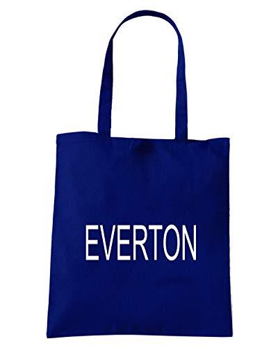EVERTON Borsa WC0684 Blu Speed Navy Shirt Shopper wYag7H