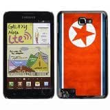 Shell-Star ( National Flag Series-North Korea ) Snap On Hard Protective Case For Galaxy Note / i717 / T879 / N7000 / i9220 by lolosakes