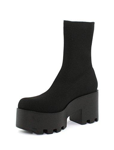 Windsor smith Hania, Bottes Hautes Femme Noir (Black 001)