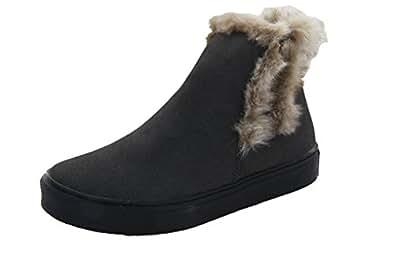 Amazon.com | HOO Girls Boot (Little Kid/Big Kid) Warm