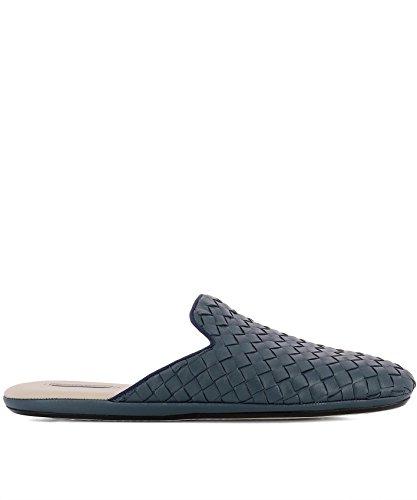 Bottega Veneta Women's 451886V00104037 Blue Leather Sandals