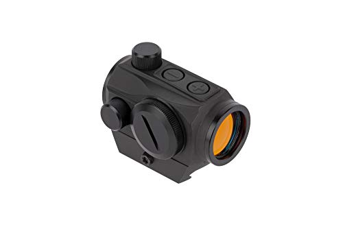 (Primary Arms Silver Series Advanced 2 MOA Red Dot Sight with Push Buttons - Includes Removable Picatinny Mount)