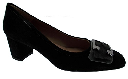 MELLUSO Noir Daim Boucle Article M5212 Chaussure Cour qnFwPS4qxf