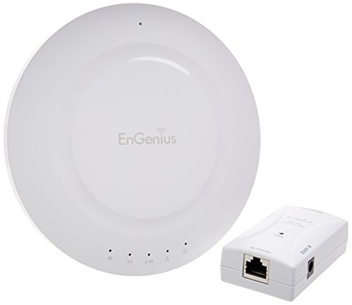 EnGenius Technologies Extra Long-Range Dual-Band Wireless-N AP with Gigabit PoE Injector (N-EAP600 KIT) by EnGenius