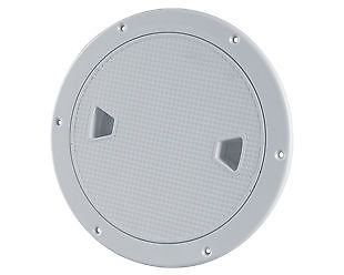 SEAFLO 8' Marine Screw Out Deck Plate Inspection Access Hatch