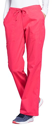 Cherokee Core Stretch Workwear Women's Drawstring Scrub Pant Small Fruit Punch (Best Fruit Punch Brand)