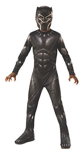 Rubie's Marvel: Avengers Endgame Child's Black Panther Costume & Mask, Medium
