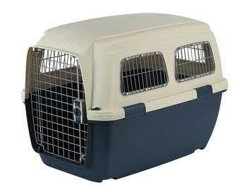 Marchioro Clipper Ithaka 5 Pet Carrier, 32.25-inches, Tan/Blue by Marchioro