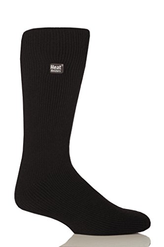 Heat Holders Thermal Socks, Men's Original, US Shoe Size 7-12, Black
