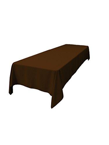 2 X LinenTablecloth 60 x 102-Inch Rectangular Polyester Tablecloth ...