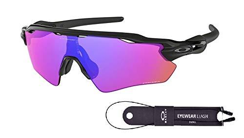 Oakley Radar EV Path OO9208 Sunglasses For Men BUNDLE with Oakley Accessory Leash Kit