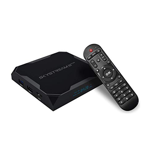SkyStream 3 Plus Streaming Media Player | Android TV Box