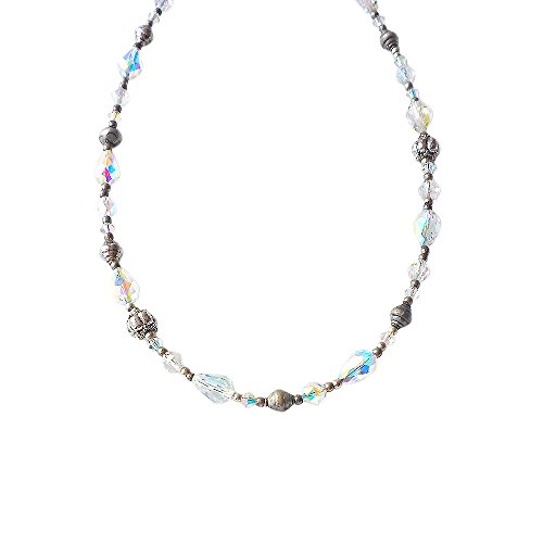 Swarovski Beaded Necklace - Hanabe Swarovski Crystal Beaded Antique Necklace