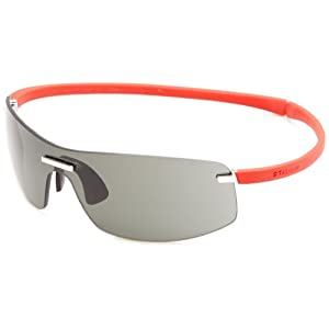 TAG Heuer Zenith 5101-103 Sunglasses,Red Frame/Grey Lens,one size