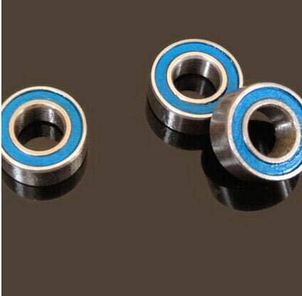 (Ochoos 50 PCS MR105-2RS ABEC-5 5x10x4 mm Miniature Ball Bearings MR105RS L1050)