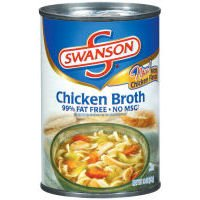 SWANSON CHICKEN BROTH CANNED 14.5 OZ