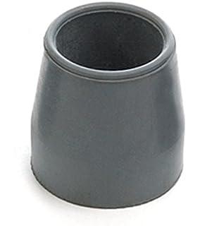 4 x Z-Tec 29 mm 2 conteras de goma gris para andador: Amazon ...
