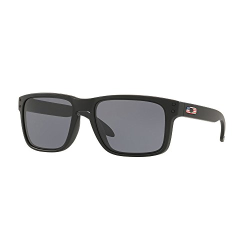 Oakley SI Holbrook USA Flag, Matte Black Frame, Grey Lens - Heritage Oakley Collection