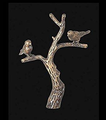 B&P Lamp Tree Of Life Finial, 2 7/8 In Ht., 1/4-27 Tap