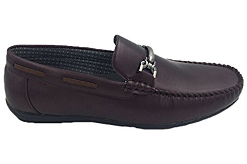 Joe ME Slip Moccasins 2715 Wine Men's Mecca On zHwxC44q