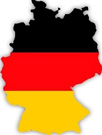 Auto Aufkleber Car Sticker Deutschland Germany Alemagne Konturgeschnitten Ca 11 Cm Längste Seite
