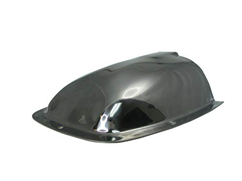 Marine Boat Large Polished Stainless Steel Clam Shell Ventilator/Wire Cover