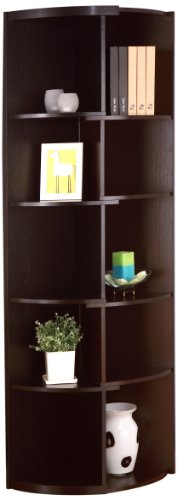 IoHOMES Marlo 10-Shelf Shifting Display Stand/Bookcase