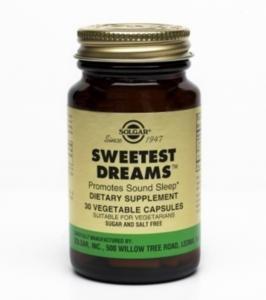 Solgar rêves les plus doux capsules végétales avec L-théanine et de la mélatonine, 30 Count