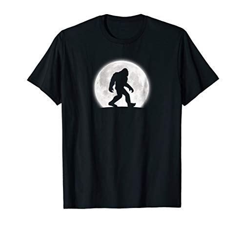 Bigfoot T-Shirt Funny Sasquatch Lover Halloween Tee Gift -