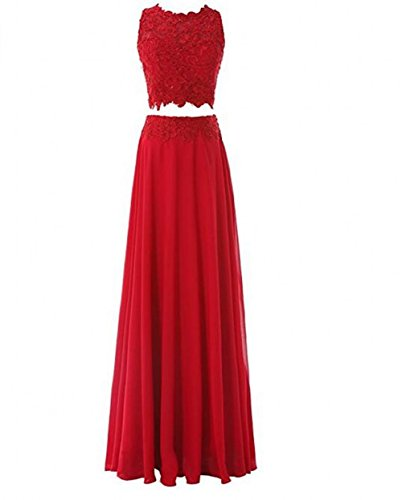 Leader of the Beauty - Vestido - para mujer rojo rosso 46