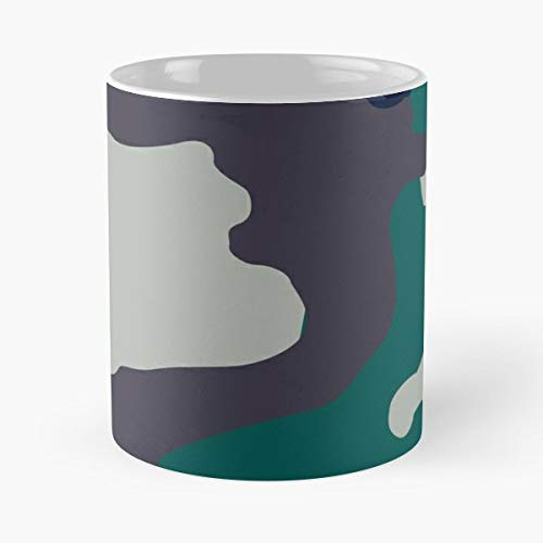 Camouflage Military Army United States - Best Gift Coffee Mugs Unique Ceramic Novelty Cup
