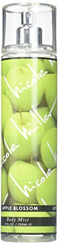 Nicole Miller Blossom Body Mist, Apple, 8 Fluid Ounce (Apple Perfume Green Jasmine)
