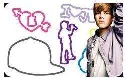 """Amazon.com: Justin Bieber Silly Bandz 24-pack + Free """"Forever ..."""