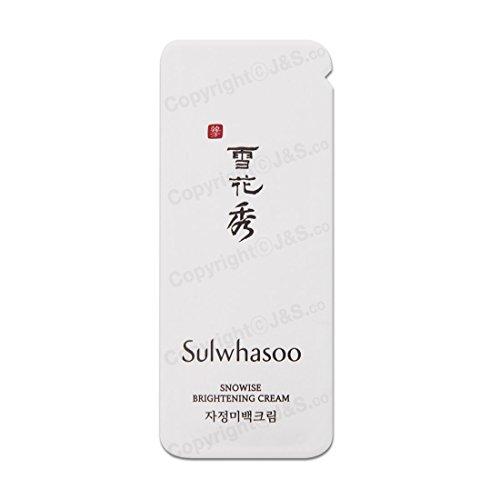 Sulwhasoo NEW Snowise Brightening Cream 1ml x (Brightening Revitalizing Cream)