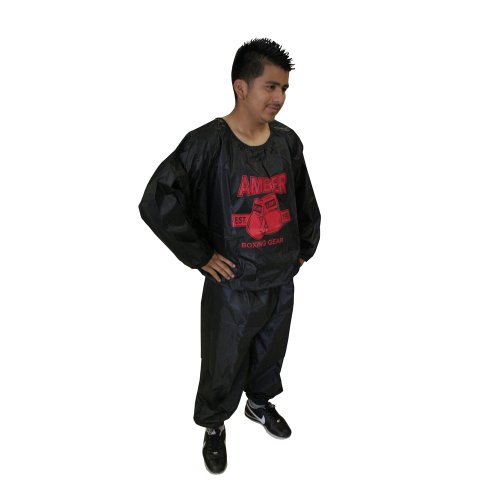 Amber Fight Gear Extreme Sauna Suit, Large/X-Large by Amber Fight Gear