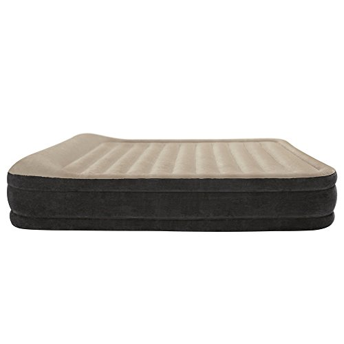 Intex Premium Comfort Airbed with Dura-Beam Technology, Queen, Bed Height 13″