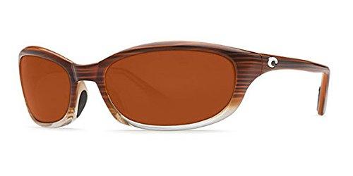 Costa Del Mar Harpoon Sunglasses, Wood Fade, Copper 580 Plastic Lens ()