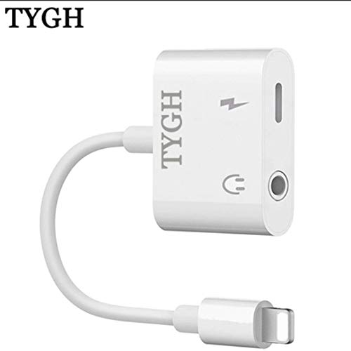 Baoneo Headphone Jack Adapter for X/XS/XS MAX/XR/8/ 8Plus/ 7/7 Plus Earphone Connector Convertor 2 in 1 Accessories