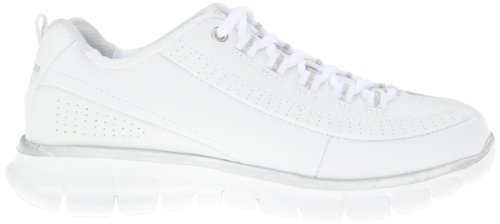 Skechers Synergy White Silver Sneaker Setter nbsp;Trend donna CHCUqOw
