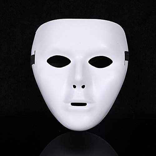 (Cosplay Villain - So Cool White Jabbawockeez Face Masks Halloween Party Mask Masquerade Hip Hop Ghost Dance Fancy - Light Stick Kids Booth Adult Black Masks Gold Craft Masquerade)