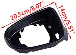 CITALL Left Side Rearview Wing Mirror Glass Frame Support Bracket Surround Trim