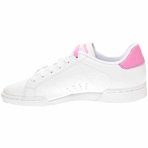 Sneakers Fashion Pink Reebok US Pop M White NPC Icono White II B NE Women's XZqXY