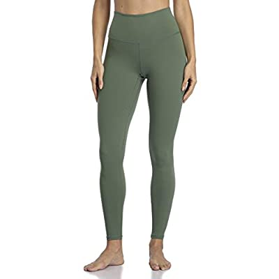 YUNOGA Women's Ultra Soft High Waisted Seamless Leggings Tummy Control Yoga Pants at Women's Clothing store