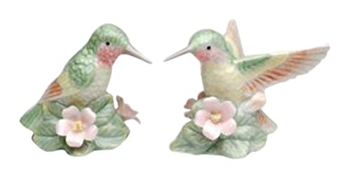 - StealStreet SS-CG-96228 Green Hummingbirds with Multi-Colored Wings Salt and Pepper Shakers