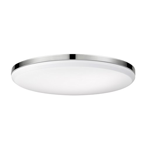 Globe Electric 65584 Ellington LED Integrated Flush Mount Ceiling Light Finish