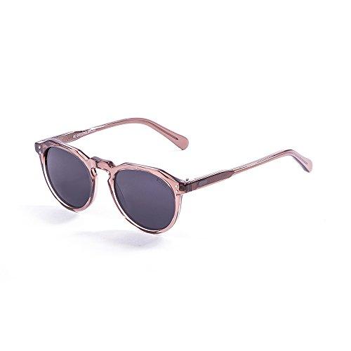 Ocean Sunglasses Cyclops Lunettes de Soleil Mixte Adulte, Dark Brown Transparent/Brown Lens