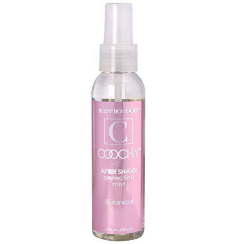 Coochy Water Based After Shave Skin Protection Soothing Mist (Safe for All Body Parts Including Face and Intimate Areas) - Size 4 Oz