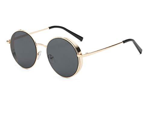 viajar de sol pesca Huyizhi para sol para de de moda al la marco de del metal de aire Guay UV400 de la conducción la Gafas libre Golden gafas unisex de gafas protección zzqfAT