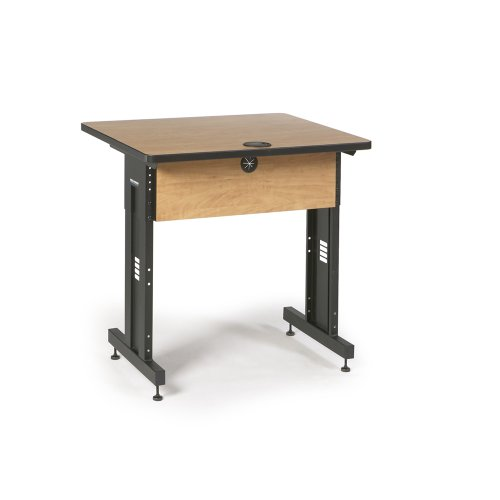 36'' W x 30'' D Training Table - Caramel Apple by Connect-Tek