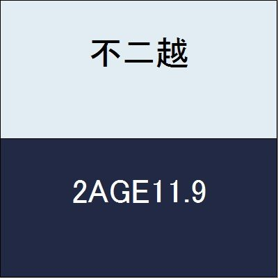 不二越 切削工具 AGミルスクエア2枚刃 2AGE11.9
